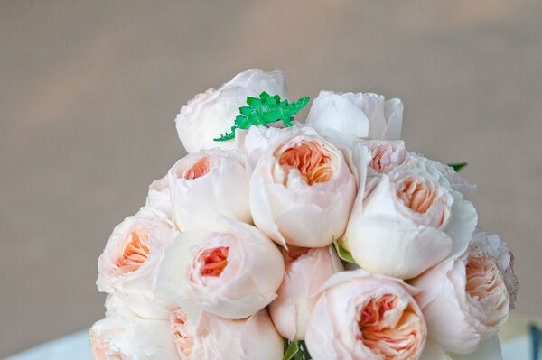 Soft Pink Garden Rose Bouquet