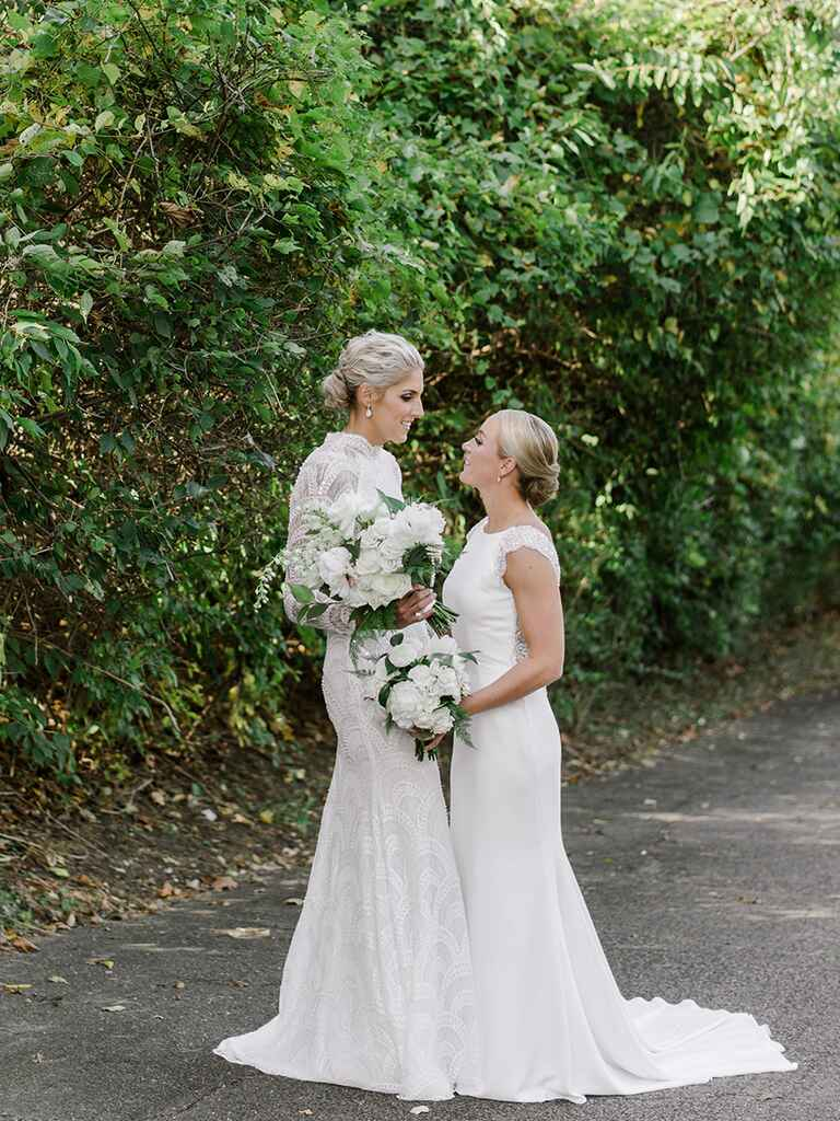 The Knot Dream Wedding couple 2017: Elena Delle Donne and Amanda Clifton