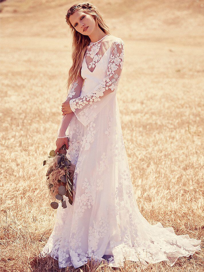 Free People Launches Wedding Dresses