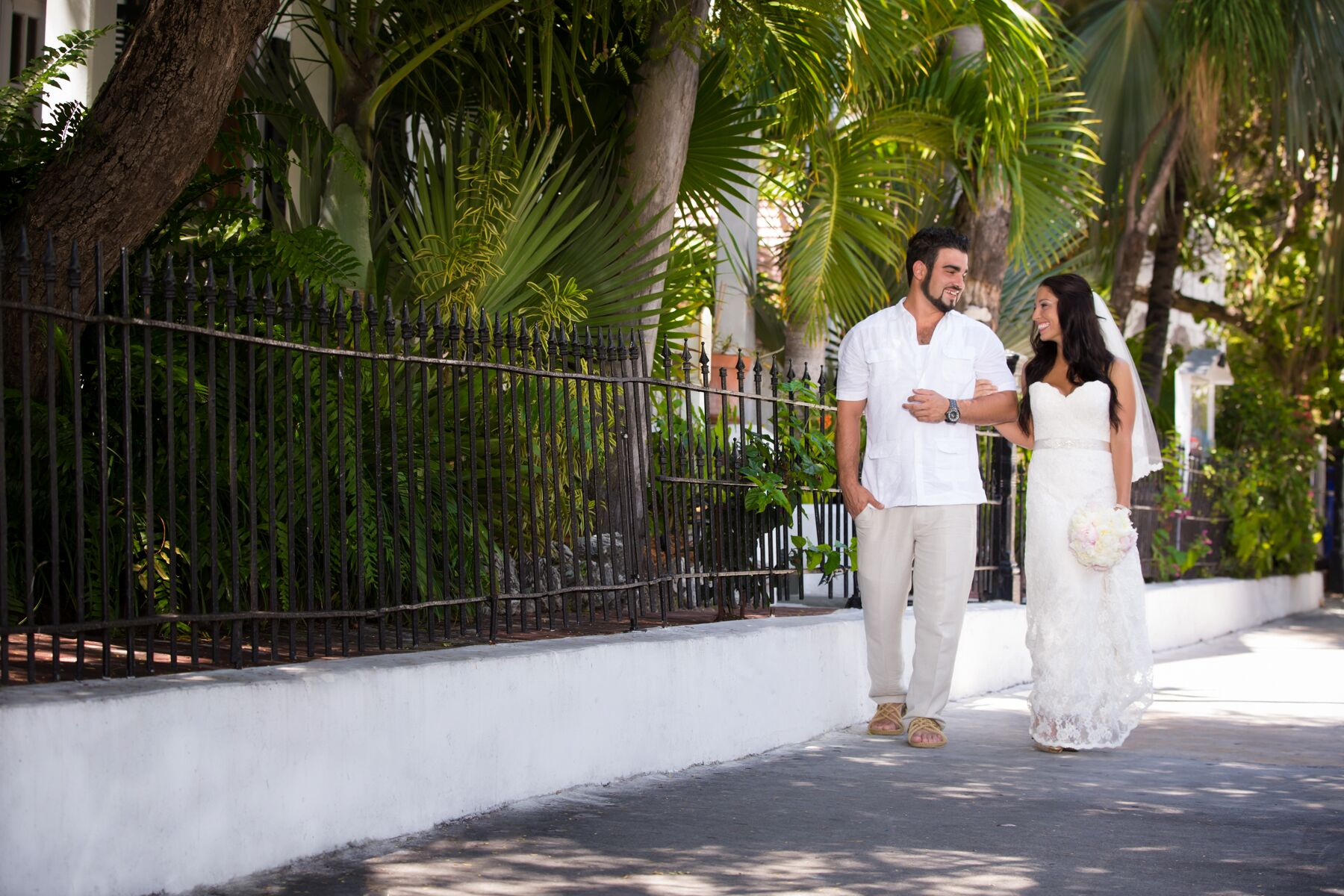 An Eclectic Wedding At San Carlos Institute In Key West. Large Diamond Wedding Rings. Mother Engagement Rings. Sunset Wedding Rings. Eagle Scout Rings