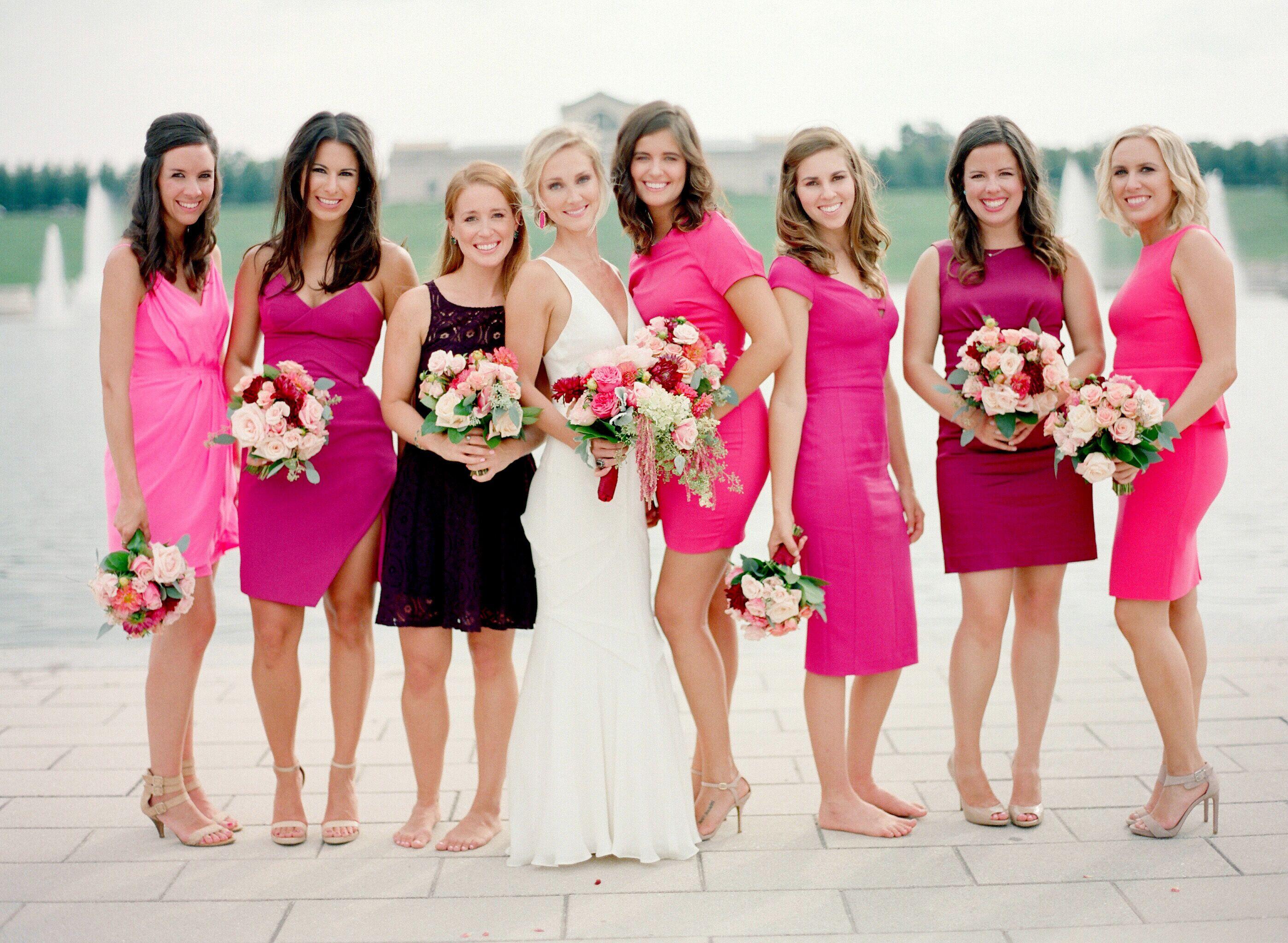 Magnífico Bridesmaid Dresses Dc Componente - Colección de Vestidos ...