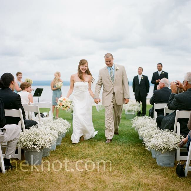 Beach Wedding Ceremony Michigan: A Waterfront Wedding In Bay Harbor, MI