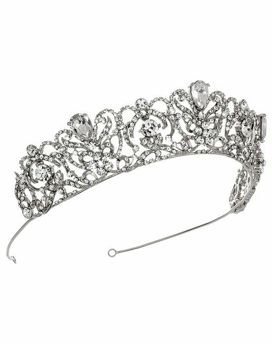 USABride Royal Princess Crown TI-3175-SV Wedding Accessory photo