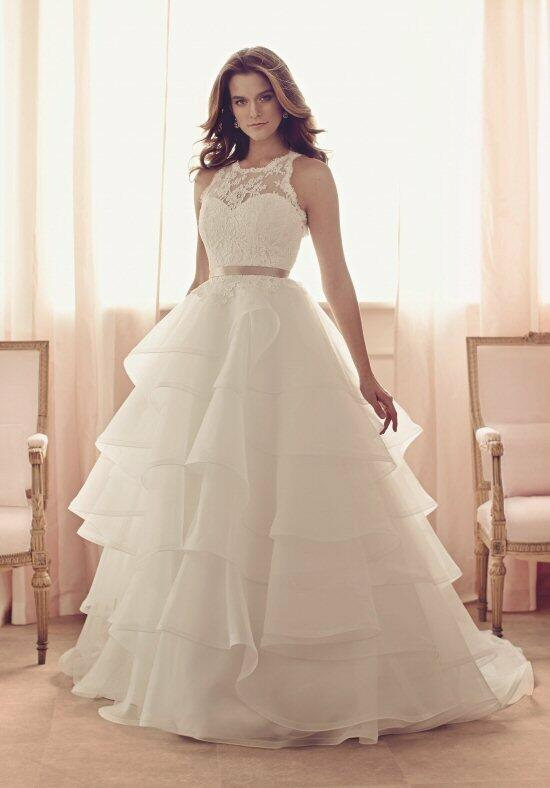 Paloma Blanca 4510 Wedding Dress photo