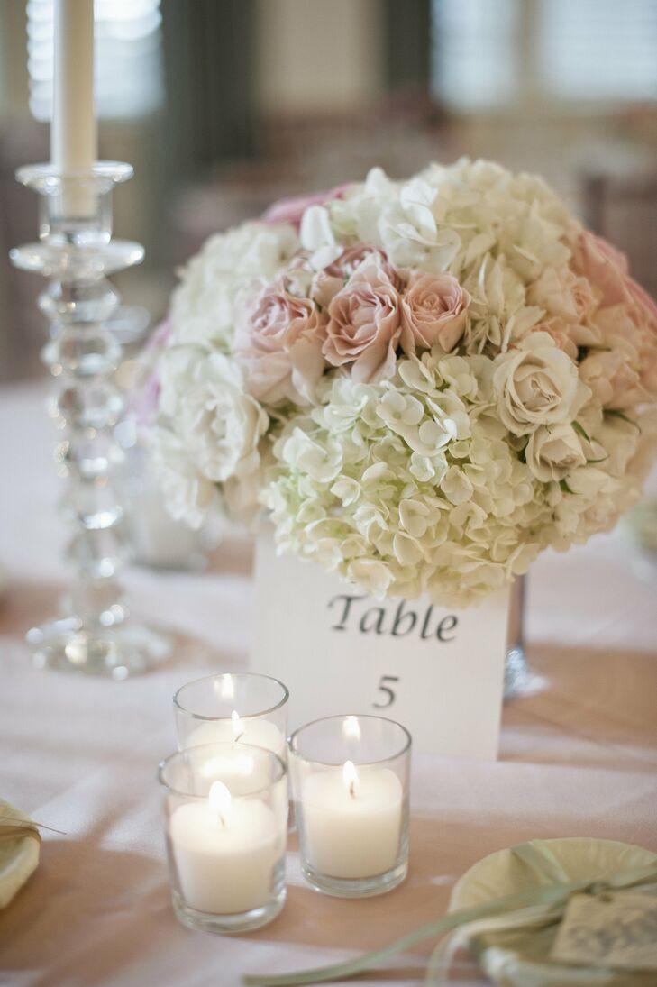 Pastel Floral Centerpieces