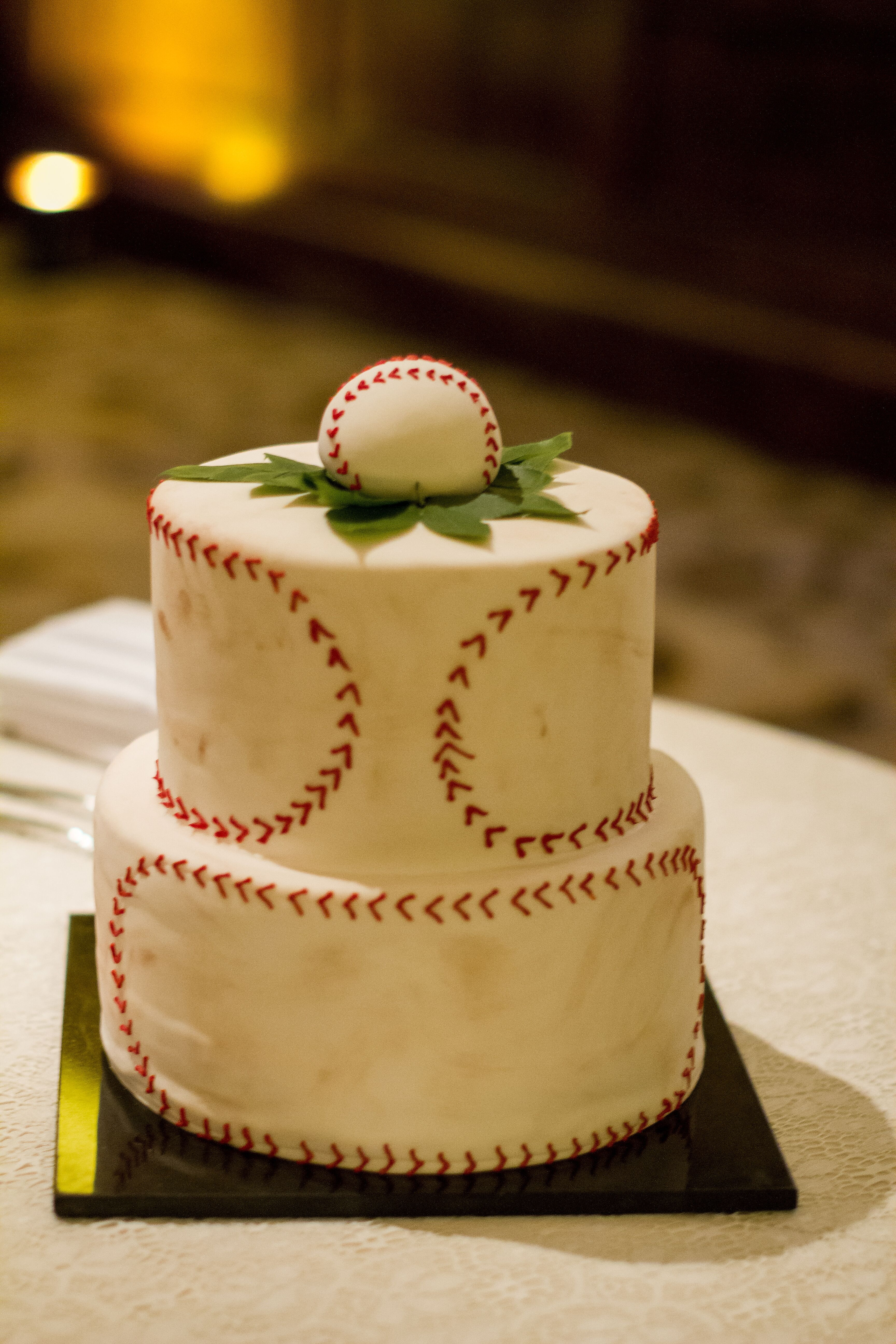 Baseball Groom S Cake
