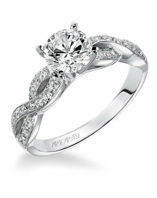 ArtCarved 31-V158ERW Engagement Ring photo