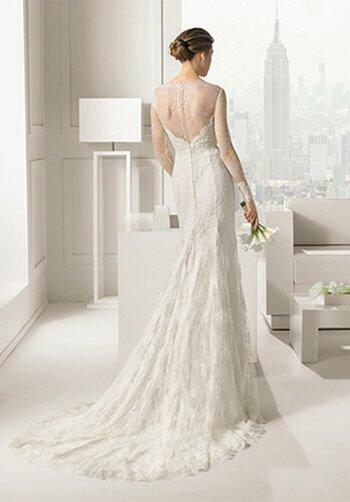 Rosa clar santafe wedding dress the knot for Santa rosa wedding dresses