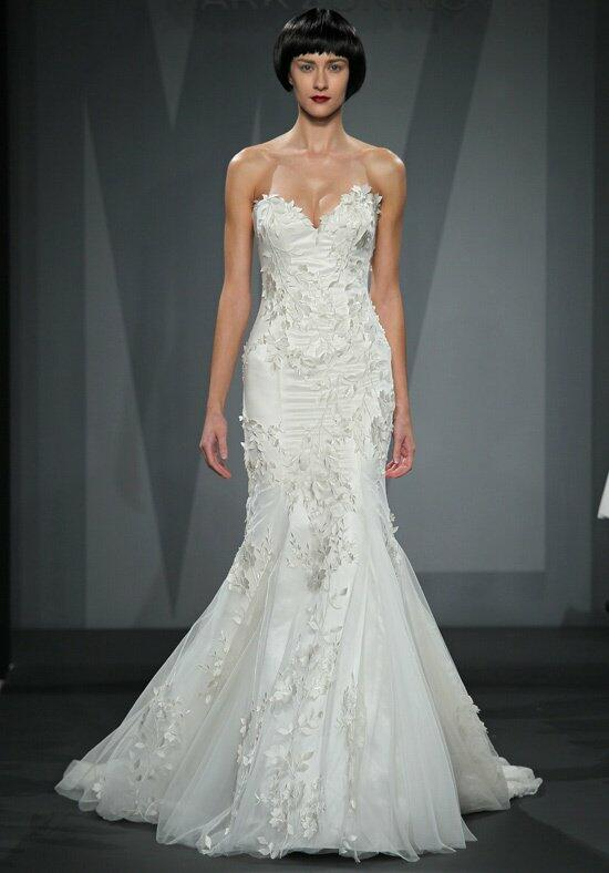 Mark zunino for kleinfeld 47 wedding dress the knot for Kleinfeld mermaid wedding dresses