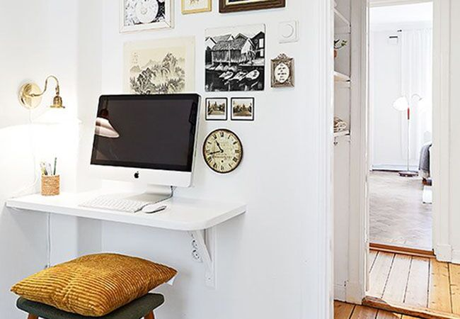 Magnificent Home Office Ideas For Small Spaces Largest Home Design Picture Inspirations Pitcheantrous