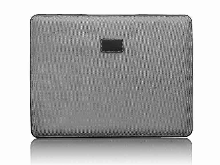 Grey laptop cover 10 year anniversary gift for him