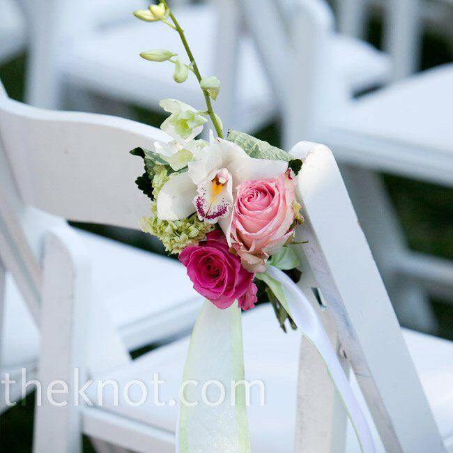 Wedding Ceremony Chair Decor
