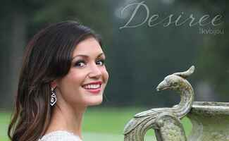 Desiree Hartsock models jewelry from her KV Bijou jewelry line
