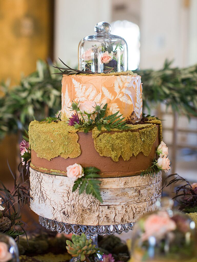 wedding cake nature rustic wedding cake ideas and inspiration 23298