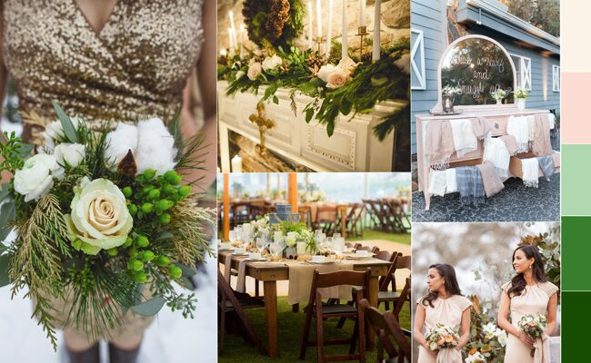 Trend Alert! Hot Winter Wedding Colors