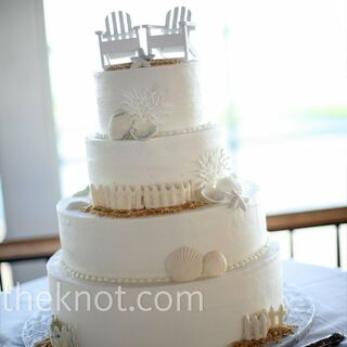 Real Beach Wedding Cakes