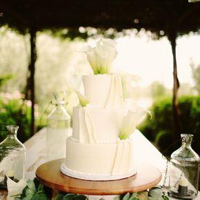 Calla Lily Wedding Cakes - Calla Lilly Wedding Cake