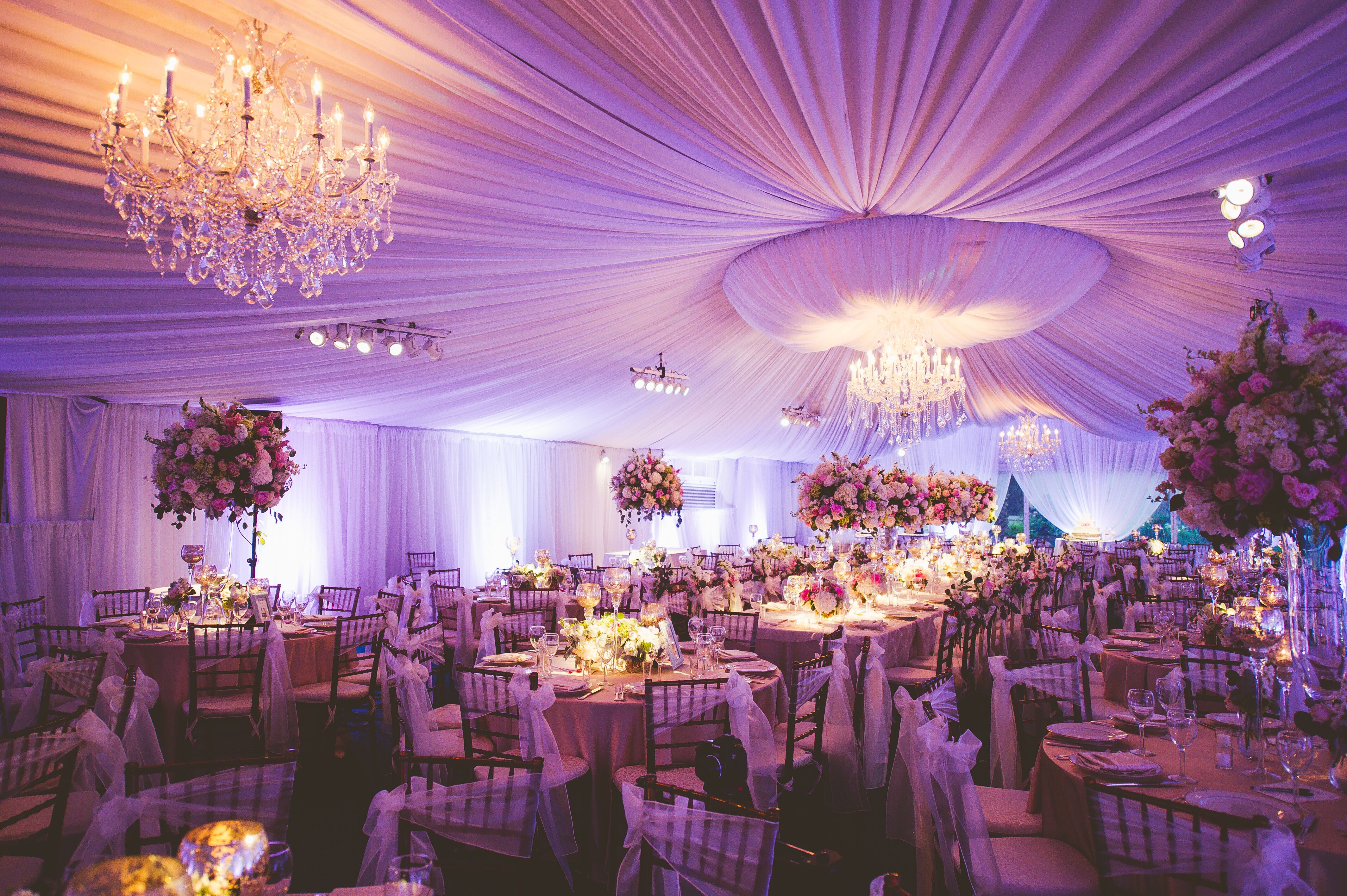 wedding reception decorations sale reception tent with chandeliers 9890