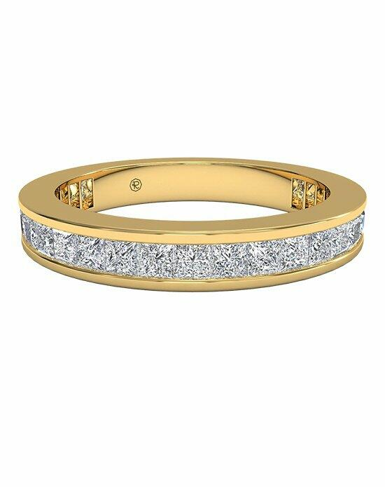 Ritani Women's Channel-Set Princess Diamond Eternity Band in 18kt Yellow Gold (1.25 CTW) Wedding Ring photo
