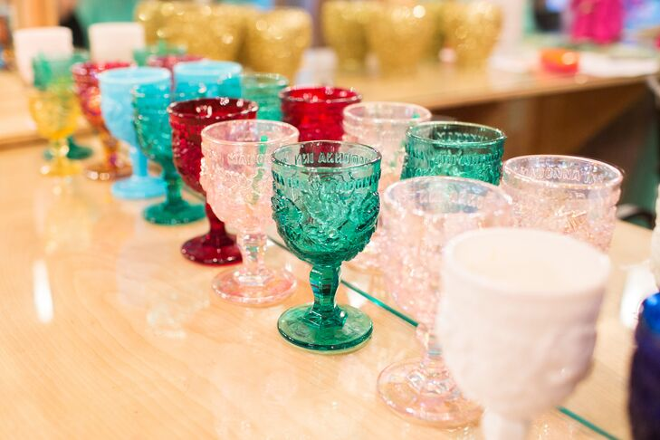 Colorful Vintage Glasses