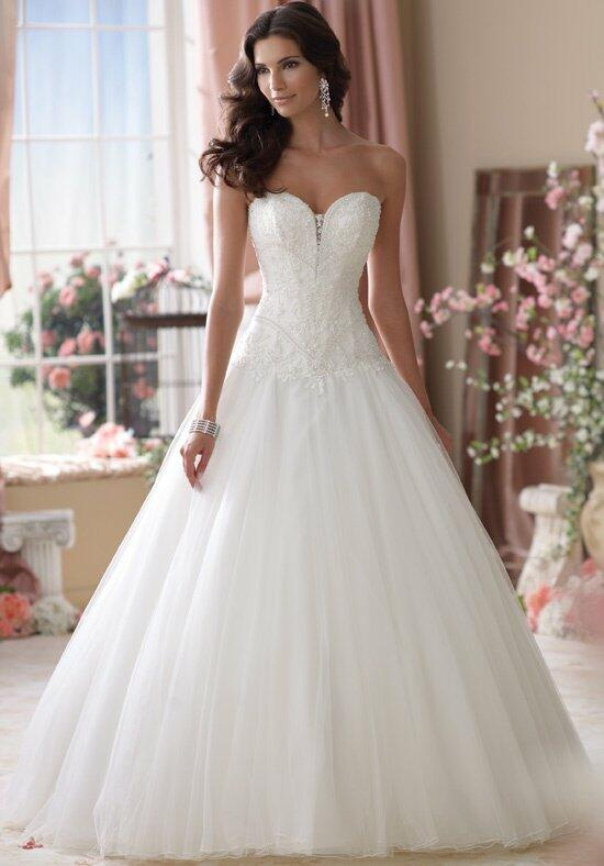 David Tutera for Mon Cheri 114277 Wedding Dress photo