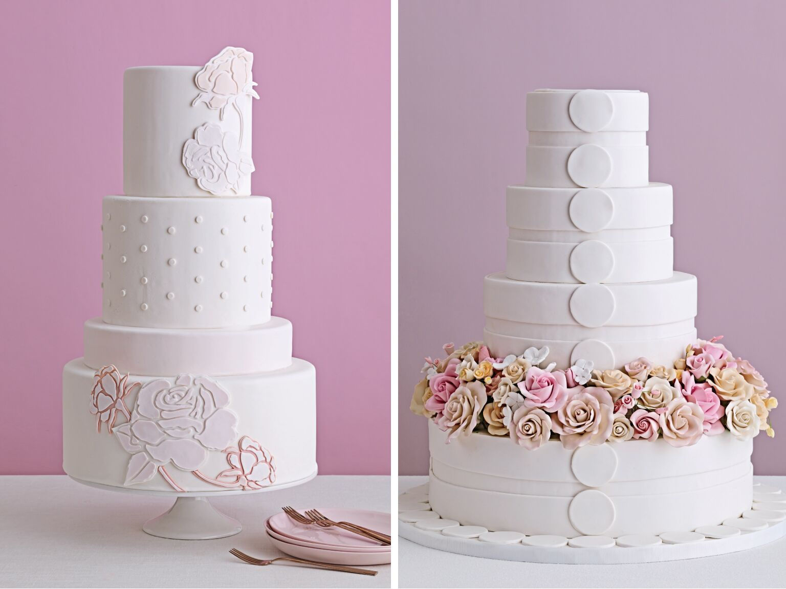 Standout Wedding Cakes (With Serious Fillings