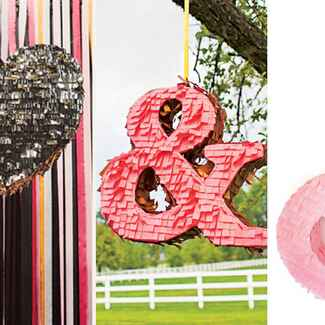 Wedding Piñatas from The Knot Blog