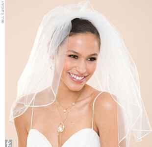 Wedding Veil Styles You'll Love: The Double-Tier Veil