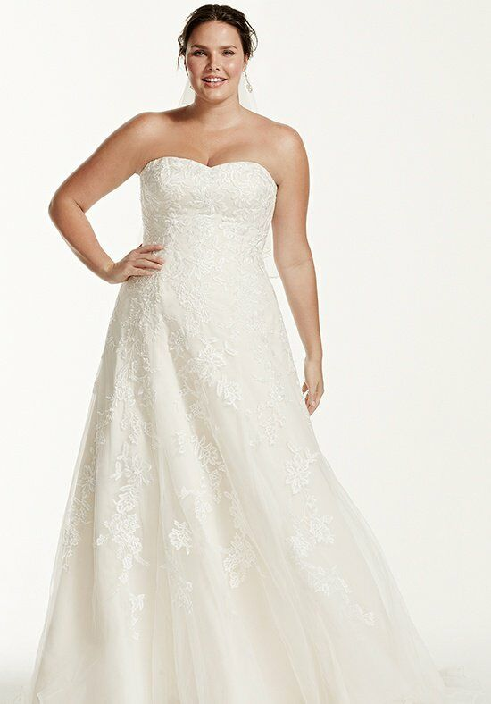 David's Bridal DB Woman Style 9V3587 Wedding Dress photo