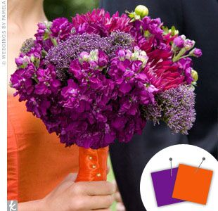 Orange Wedding Color Combinations and Palettes