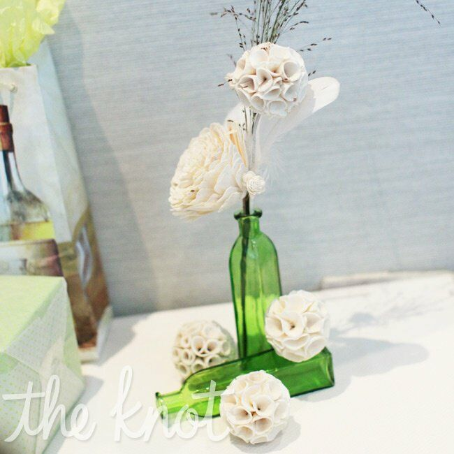 Sola Wood Flower Centerpieces