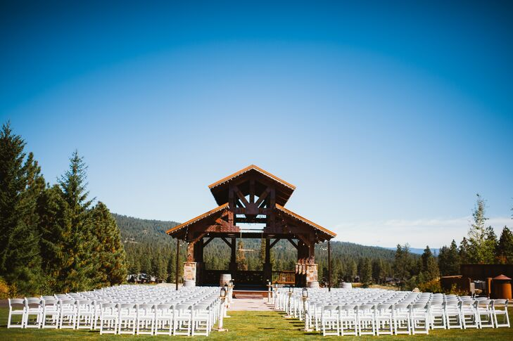 Swiftwater Cellars Outdoor Ceremony Setup