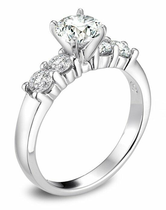 Platinum Engagement and Wedding Ring Must-Haves Helzberg Round Diamond Ring in Platinum Engagement Ring photo