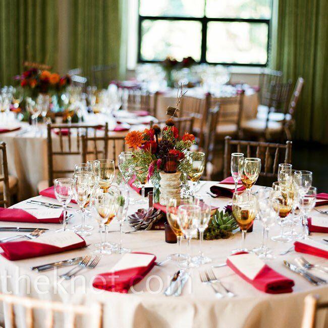 fall wedding reception decor. Black Bedroom Furniture Sets. Home Design Ideas