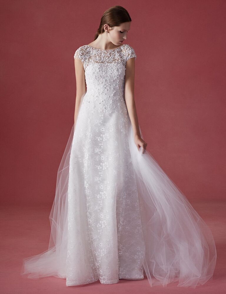 Oscar del renta wedding dress cheap