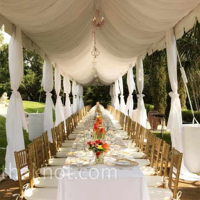 Wedding Reception Austin Tx: An Outdoor Wedding In Austin, TX