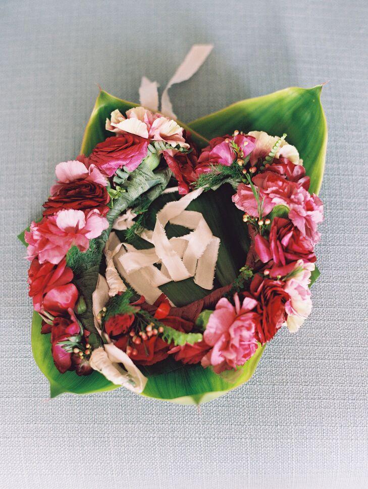 Colorful Hawaiian Flower Crown