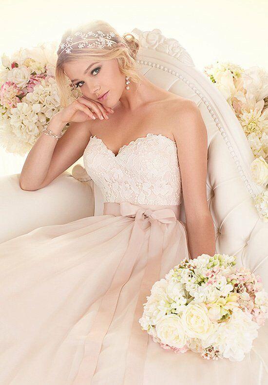 Essense of australia d1617 wedding dress the knot for Essense of australia strapless long wedding dresses