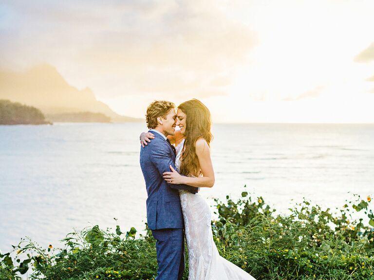 Hawaii wedding details tone it ups karena dawns wedding junglespirit Images