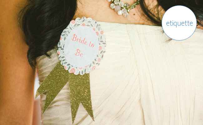 Bridal Shower Etiquette: What To Do If You're Not Having One