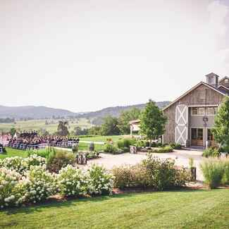 Pippin Hill Farm and Vineyards wedding reception