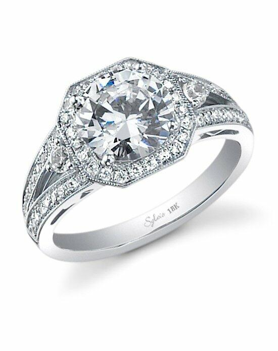 Sylvie Collection SY442 Engagement Ring photo