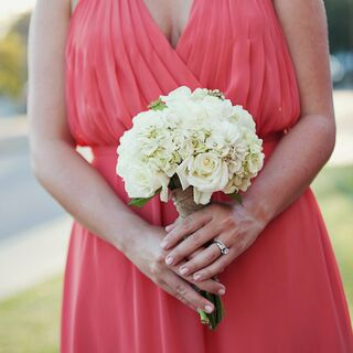 A Coral Country Wedding in Flora
