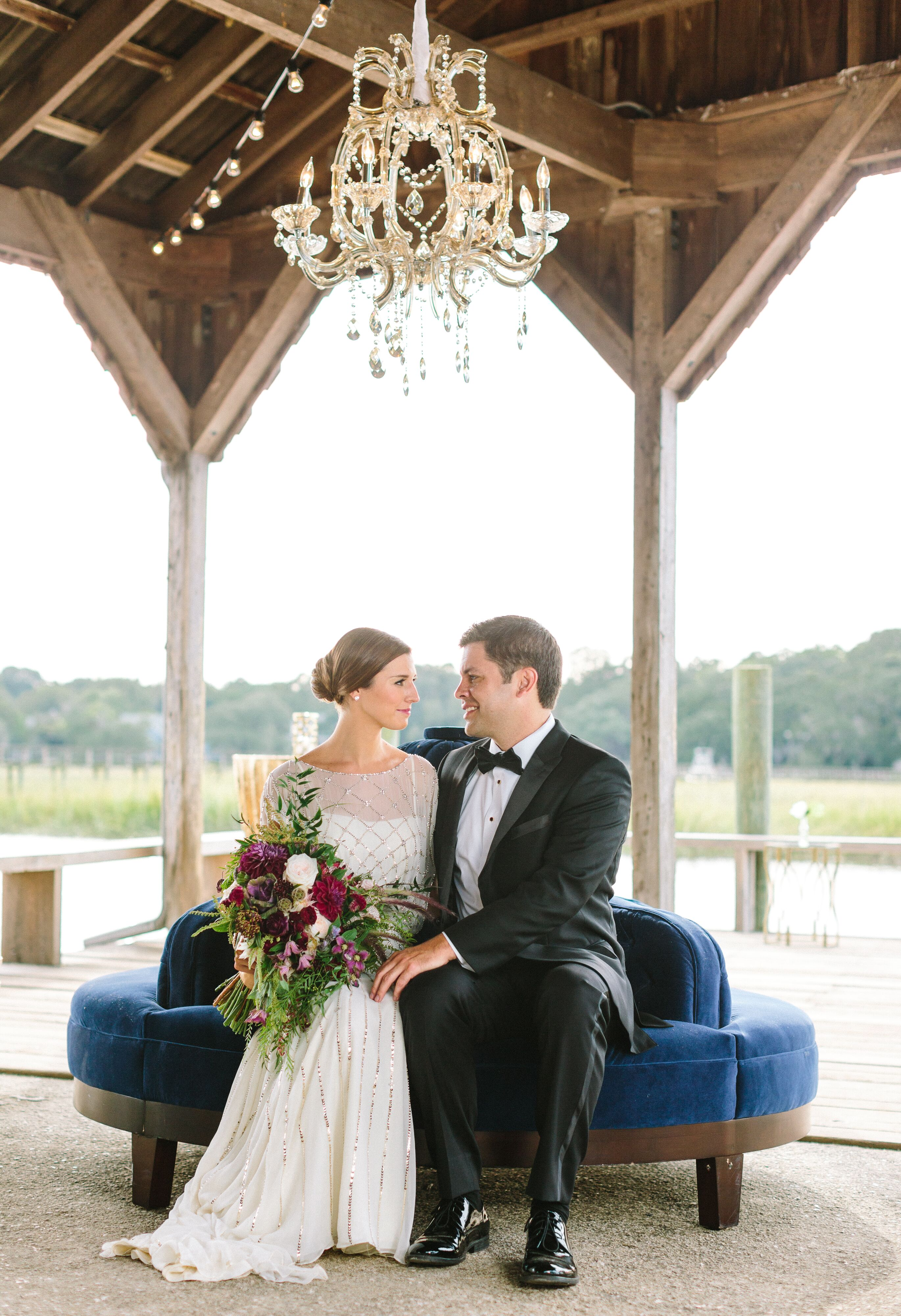 A Romantic Low Country Wedding at Boone Hall Plantation in Mount ...