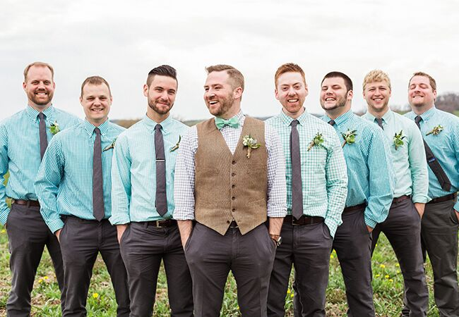 Casual Groom and Groomsmen Style