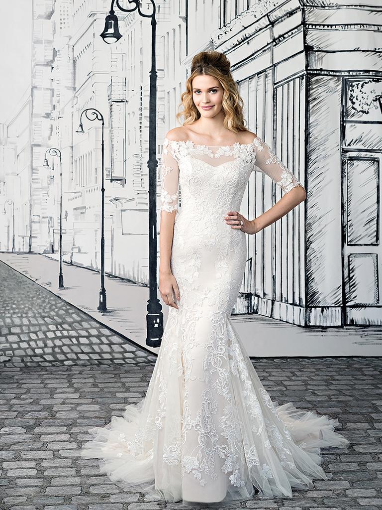 Hem wedding dress length
