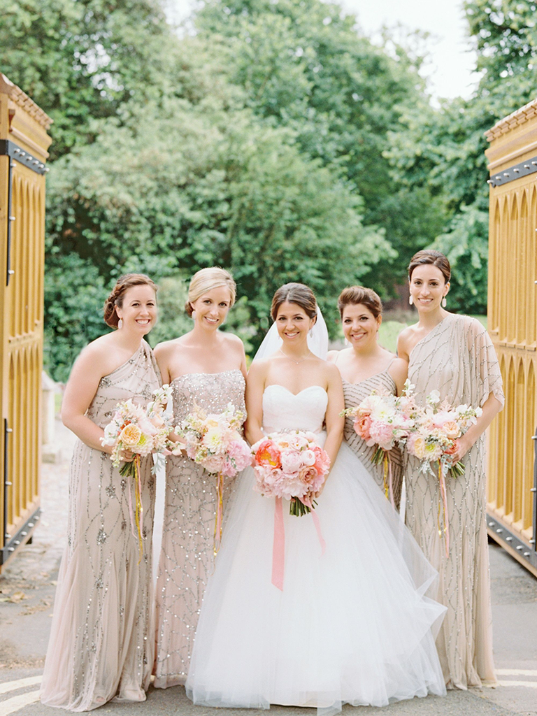 These mismatched bridesmaid dresses are the hottest trend neutral mismatched bridesmaid dresses ombrellifo Image collections