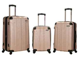 Expandable luggage set from Target