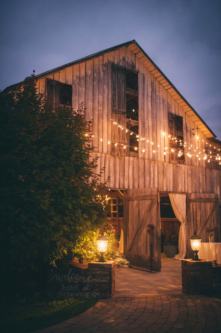 The Barn at Springhouse Reception