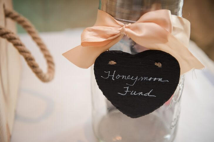 Honeymoon Fund Donation Jar